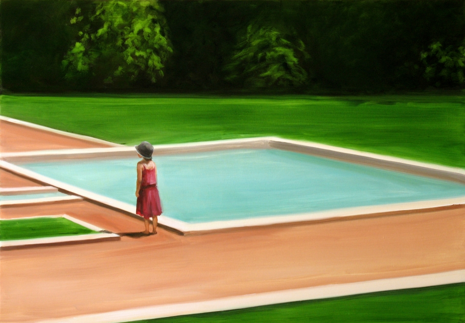 I never promised you a rose garden #9, 2006<br /> Oil on canvas<br /> 70 x 100 cm