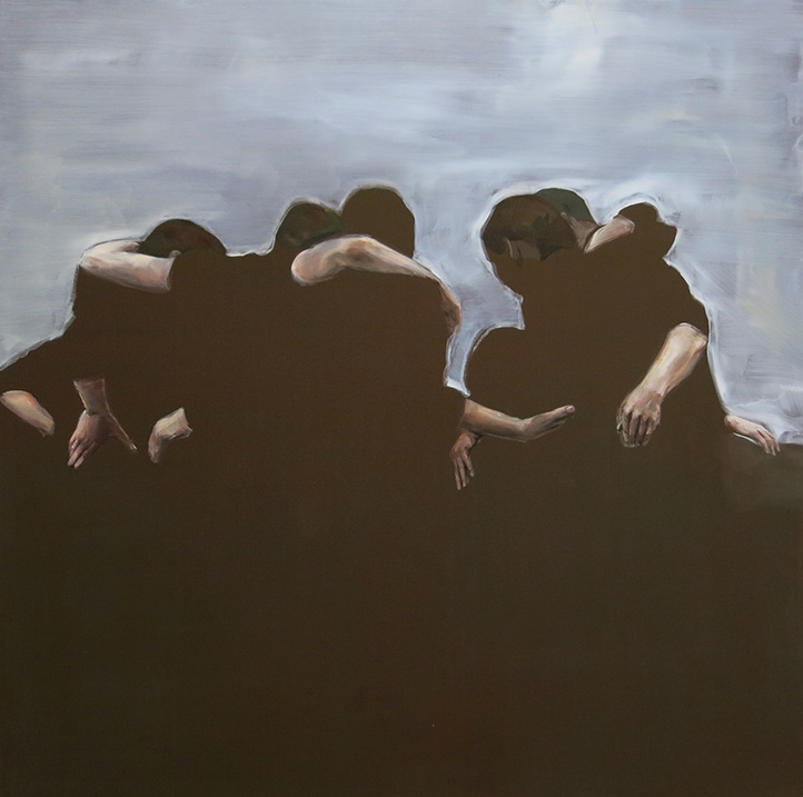 Heimat #9, 2014 Oil on canvas 150 x 150 cm