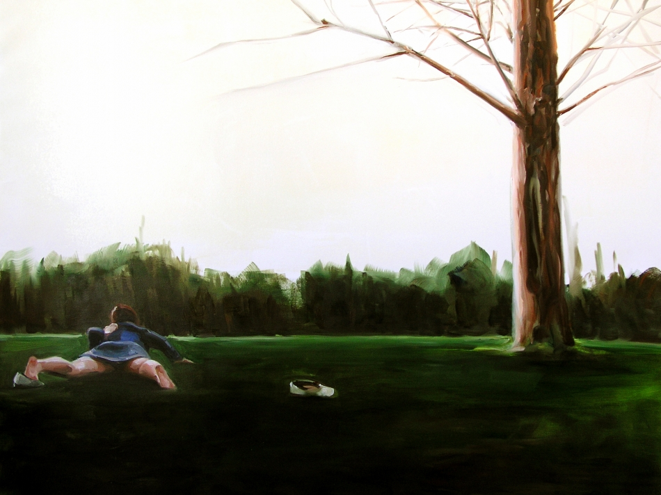 Panorama #3, 2005<br /> Oil on canvas<br /> 150 x 200 cm