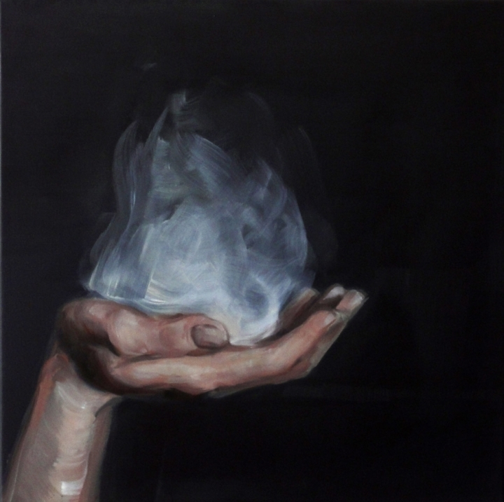 Untitled,2011<br />Oil on canvas <br />50 x 50cm
