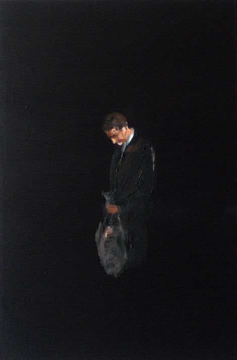 Remembrance # 14, 2008<br /> Oil on MDF<br /> 30 x 20 cm