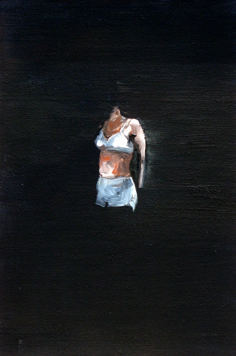 Remembrance # 10, 2008<br /> Oil on MDF<br /> 30 x 20 cm