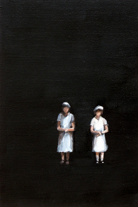 Remembrance # 20, 2008<br /> Oil on MDF<br /> 30 x 20 cm